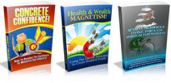 Thumbnail 3 PLR eBook - Concrete Confidence, Health & Wealth Magnetism, AcConcrete Confidence