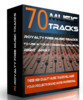Thumbnail **UPDATED** 70 Royalty Free Music Tracks Package  PLR