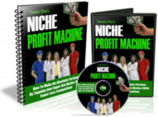 Product picture **Upgraded** Niche Profit Machine: Make More Money