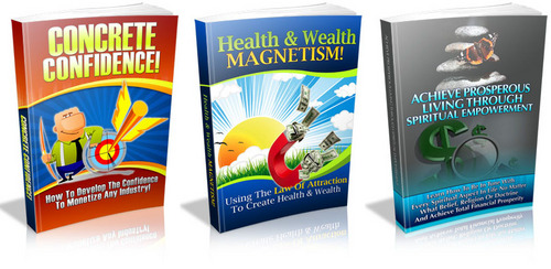 Product picture 3 PLR eBook - Concrete Confidence, Health & Wealth Magnetism, AcConcrete Confidence