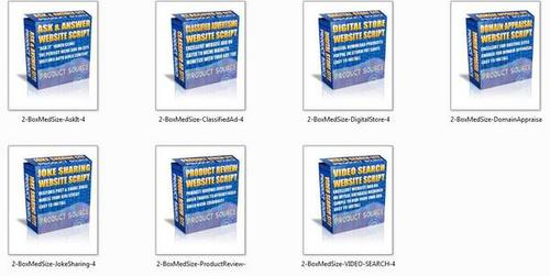Product picture **hot scripts** 7 PHP Website Scripts (PLR)