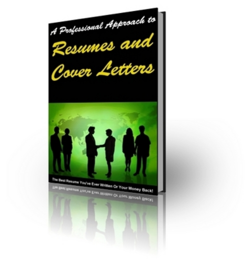Product picture **HOT** A Professional Approach To RESUMES & COVER LETTERS