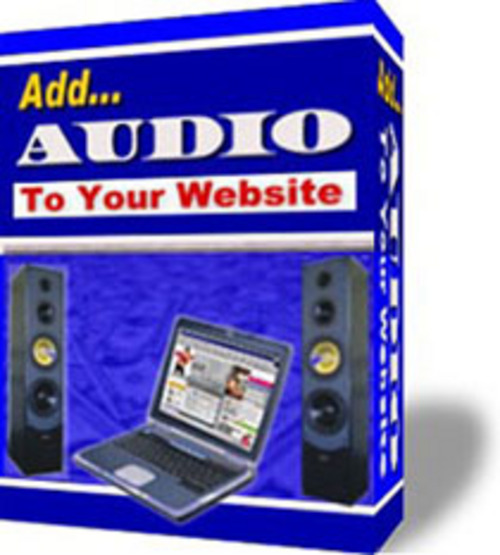 Product picture **GUIDE** Add Audio To Your Site (PLR)