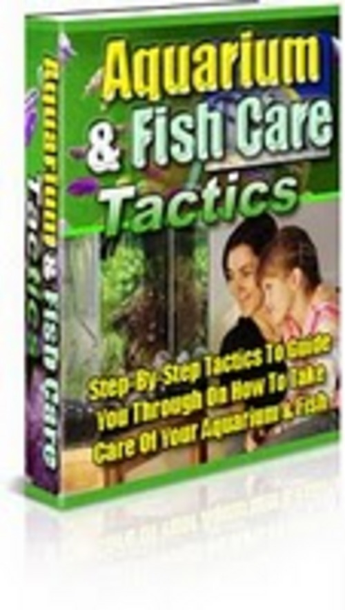 Product picture **HOT TIPS** Aquarium Fish Care Tactics