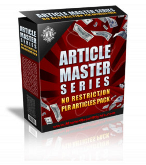 Product picture **HOT** Article Master Series PLR
