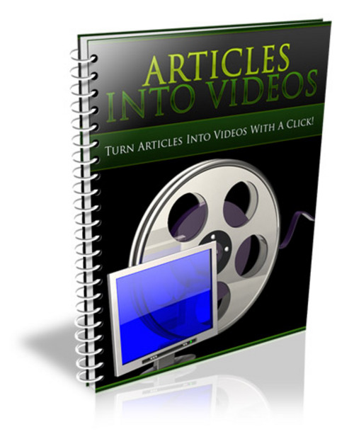 Product picture *BRAND NEW* Articles Into Videos