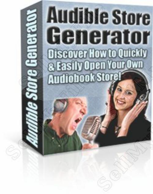 Product picture **HOT** Audible Store Generator PLR Ebook